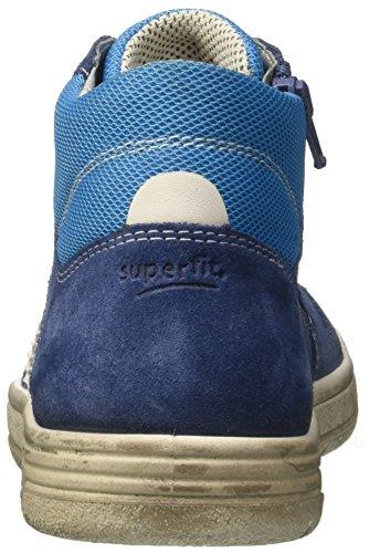 Superfit Earth, Zapatillas Altas Para Niños Blau (Water Kombi)