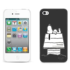 BESTER Peanuts Character Case for iPhone 4s (Snoopy)
