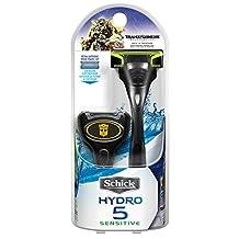 Schick Hydro 5 Limited Edition Transformers Men's Razor, Includes 2 Men's Razor Refills, 1 Count