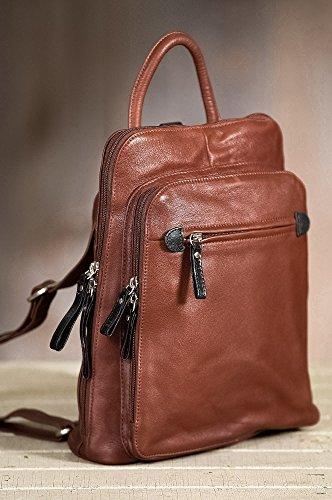 Macy Leather Backpack Purse by Overland Sheepskin Co (Image #2)