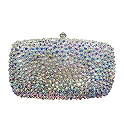 Rectangular Full Rhinestone Bag