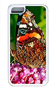 Cases For iPone 5C - Summer Unique Cool Personalized Design A Beautiful Butterfly