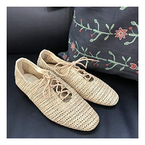 Casual Puro Superficial Zapatos Ronda WULIFANG Lok C Fu Tela 6w1IdIBq