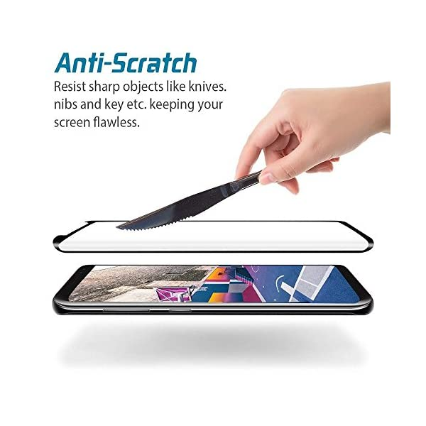 AILIBOTE-Glass-Screen-Protector-for-Samsung-Galaxy-S92-Pack3D-Curved-Tempered-Glass-Dot-Matrix-with-Easy-Installation-Tray-Case-FriendlyBlack