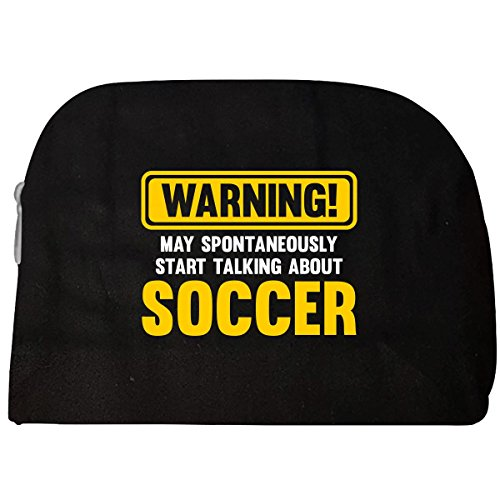 fan products of Warning May Spontaneously Start Talking About Soccer - Cosmetic Case