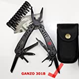 Ganzo Knife Tools G301B Folding Plier Outdoor Survival Camping Fishing Huntsman Knives EDC Multi Purpose Pliers Multifunctional GANZO G301B