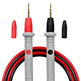 Micsoa Multimeter Test Leads Banana Plug, Digital Multimeter Probes Electrical Test Probe 20A 1000V