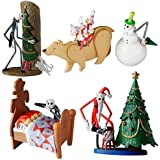 Jun Planning Nightmare Before Christmas Series 1 Trading Figure 4pc Set