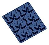 NCAA Michigan Wolverines Muffin/Cupcake Pan, One Size, Navy