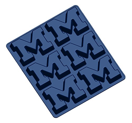 NCAA Michigan Wolverines Muffin/Cupcake Pan, One Size, Navy by Fanpans (Image #1)