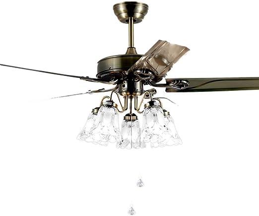 Chandelier Lámparas de araña Luz De Ventilador Luz De Ventilador ...