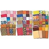 25 Sheets Various Brands 8 1/2'' x 11'' Scrapbook Paper