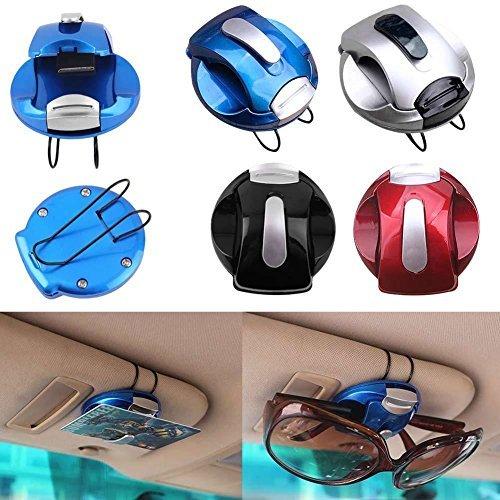 VIPASNAM-Car Sun Visor Sunglasses Eye Glasses Card Pen Holder Clip Car Vehicle - Dc Ec Electric Sunglasses