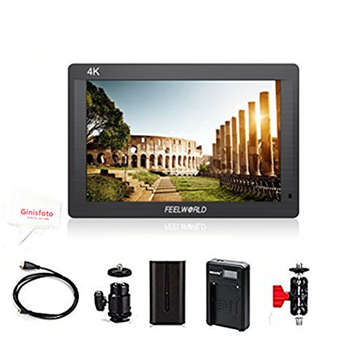 Feelworld 7 Inch On-Camera Field Monitor With Full HD IPS Sc