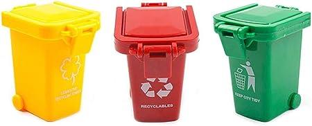El bote de basura está hecho de material ABS de alta calidad, ecológico e inofensivo.,Deje que su hi