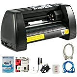 VEVOR Vinyl Cutter 14 Inch Plotter Machine 350mm Paper Feed Vinyl Cutter Plotter Signmaster Software Sign Making Machine (14Inch Style 2)