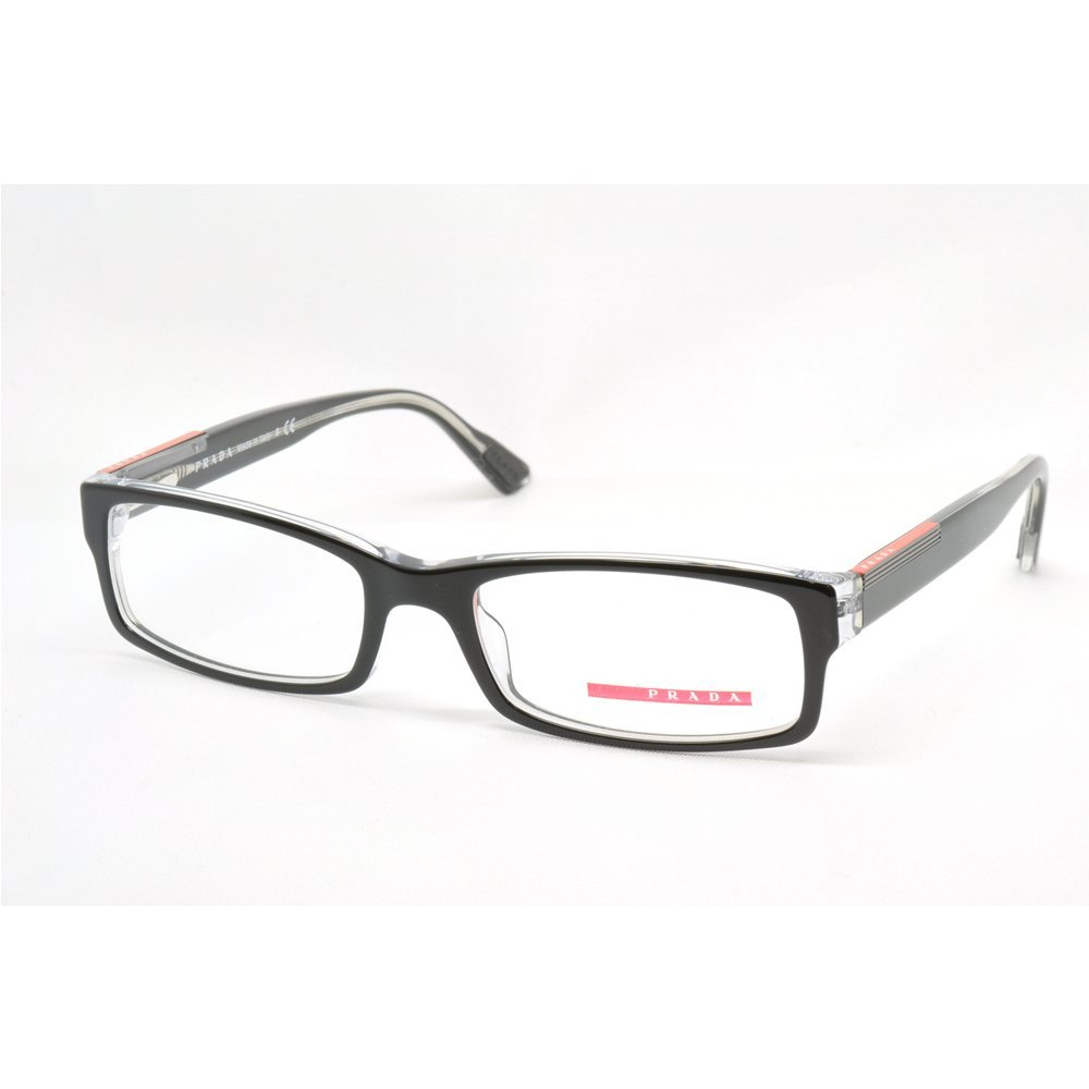 847c6e406ba Glasses for man Prada Linea Rossa PS10AV 2AF1O1 - width 52  Amazon.co.uk   Shoes   Bags