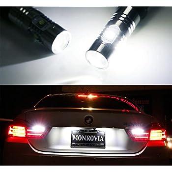 iJDMTOY (2) Super Bright Xenon White Error Free LED Backup Reverse Light Bulbs For 2014-2017 BMW 4 Series 420i 428i 435i M4 (F32 F33 F36 F82)