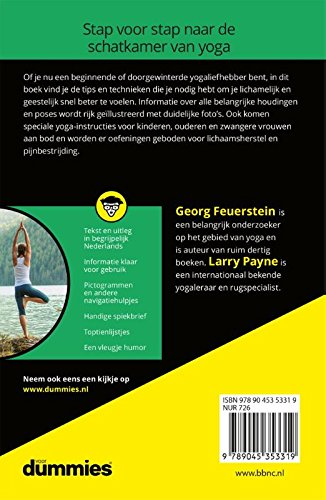 Yoga voor Dummies: Amazon.es: Georg Feuerstein, Larry Payne ...