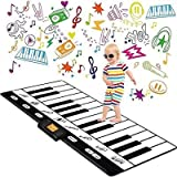 "Toys : Keyboard Playmat 71"" - 24 Keys Piano Play Mat - Piano Mat has Record, Playback, Demo, Play, Adjustable Vol. - Original - By Play22"