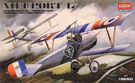 Academy Nieuport 17 (Plastic Model Kit)