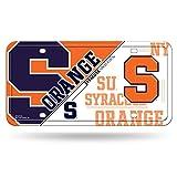 NCAA Syracuse Orange Metal Auto Tag
