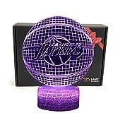 TriPro Basketball Shape 3D Illusion Smart 7 Colors