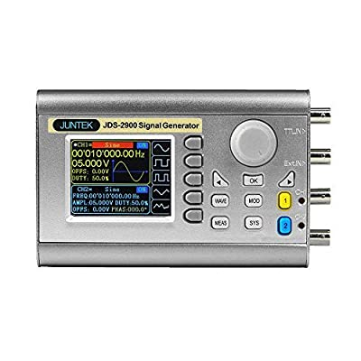 Jingrui Double Channel DDS Signal Generator Counter Arbitray Waveform Generator Pulse Signal Frequency Meter