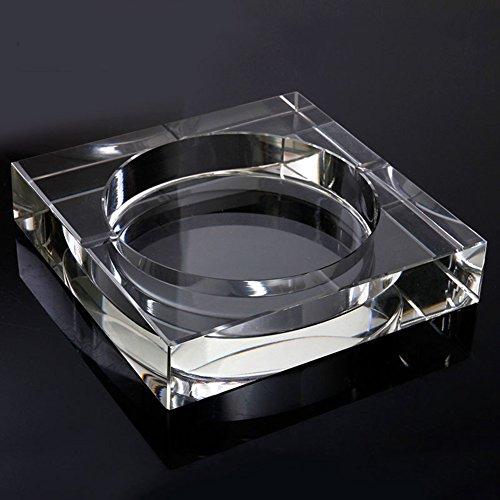 European glass ashtray,Creative personality Square ashtray Beautiful decorations-F by RNFJFMSX