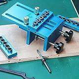 Universal High Precision Jig Dowel Cam Jig Minifix