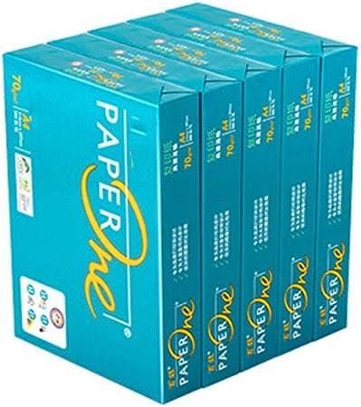 Papel A4 Papel multipropósito 5 paquetes de papel de impresión A4 500 Libro Blanco de la