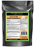 Sodium Bicarbonate - Natural Process USP No. 1 Food Grade Aluminum-Free (Baking Soda) ING: Organic Powder, 1 lb