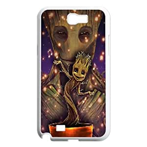 LSQDIY(R) groot guardian Samsung Galaxy Note 2 N7100 Cover Case, DIY Samsung Galaxy Note 2 N7100 Case groot guardian