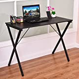 Computer Desk Wood Metal PC La