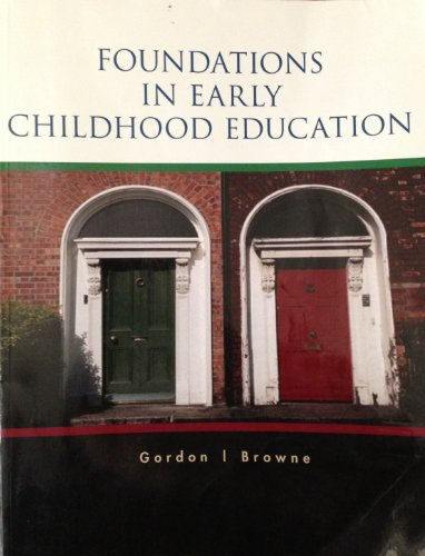 Download Foundations In Early Childhood Education Cengage Learning