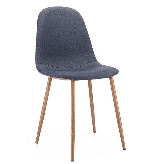 Juego de 4 sillas de Comedor con diseño de Eames Retro ...