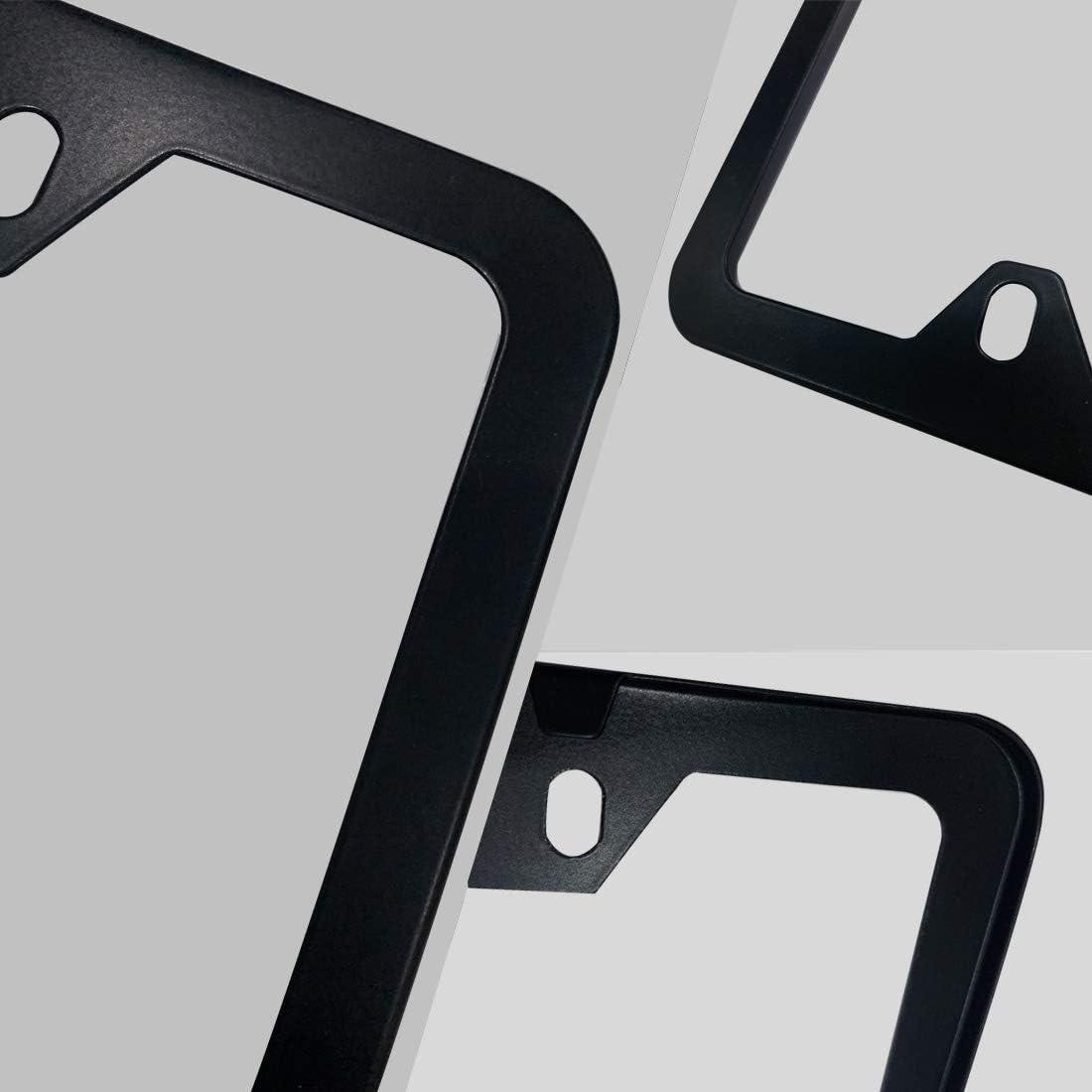 2Pcs Fit Bears License Plate Frame Car Accessories,The Latest Aluminum Alloy Bears License Plate Frame,License Plate Frame for American Standard Size