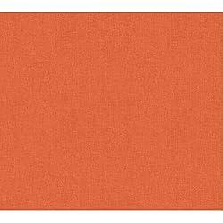 York Wallcoverings WH2734 Wallpap-Her Dream Weaver Wallpaper, Safety Orange