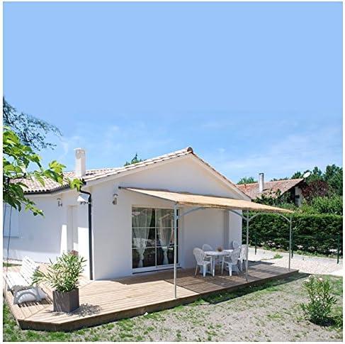 Provence Outillage-Pérgola de pared Mistral 6mx4m: Amazon ...