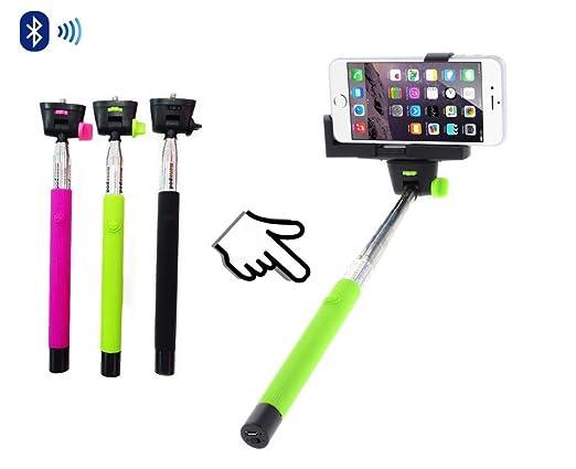 22 opinioni per GadgetinBox™- (Verde) New allungabile Wireless Bluetooth portatile telescopico