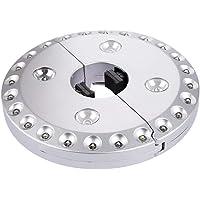 28 luces LED para sombrilla inalámbricas, lámpara inalámbrica con 24 + 4 LED superbrillantes para sombrillas, tiendas de…