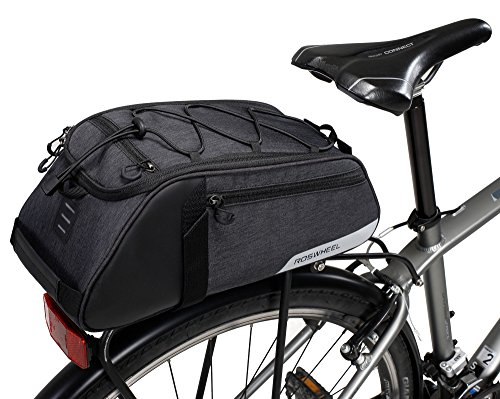 Sports & Entertainment Roswheel New Bicycle Bags 13l Cycling Bike Pannier Rear Seat Bag Rack Trunk Shoulder Handbag Black With Rain Cover A Great Variety Of Models