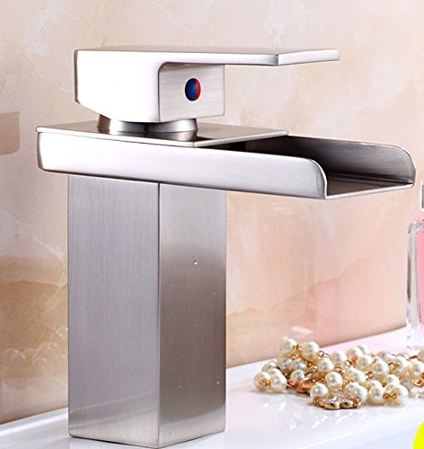 AWXJX Mixer Water Tap copper European style Wash your face Hot and cold bathroom waterfall