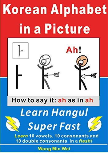 Korean Alphabet in a Picture: Learn Korean Alphabet (Hangul) Super Fast