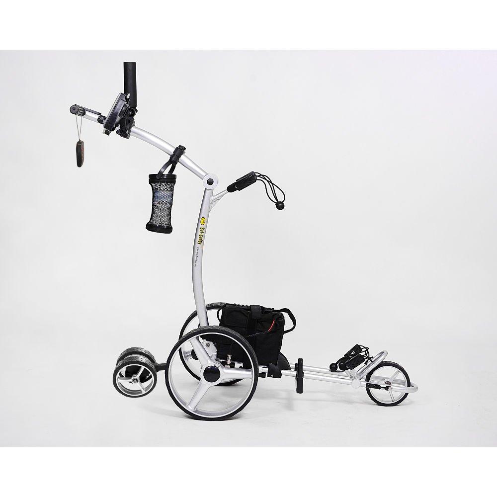 Bat-Caddy X4R Remote Control Golf Cart/Trolley w/ Deluxe Accessory Kit & Mountain Slayer Anti-Tip Bar