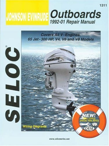 Outboard Repair Manual (Johnson/Evinrude Outboards, All V Engines, 1992-01)