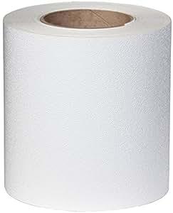 Jessup 4100-6 Flex Track Non Slip 6-Inch White Safety Tape, 2-Pack