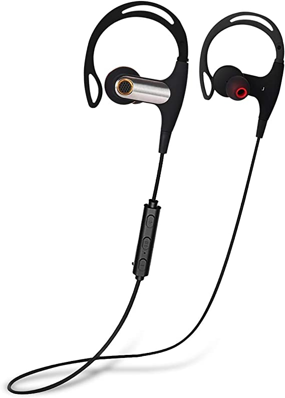 IPX7 Waterproof Wireless Sport Headphones 7-9 Hrs Playtime Sport Headphones Bass+//Hi-fi Stereo//in-Ear Earphones w//Mic Mpow Flame Bluetooth Headphones Perfect for Running and Gym Workout-Flash Green