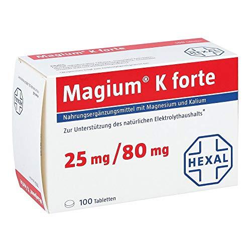 HEXAL AG Magium K Forte, 100 Stück 100 St.