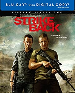 Cover Image for 'Strike Back: The Complete Second Season (Cinemax) (Blu-ray)'